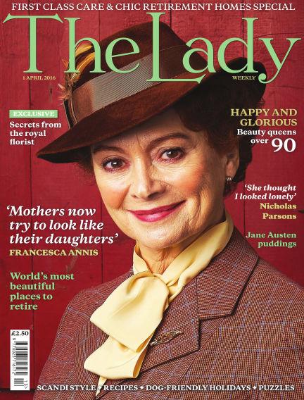 The Lady April 01, 2016 00:00