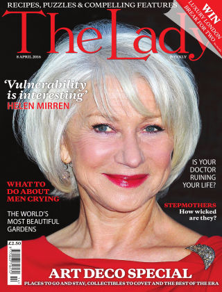 The Lady 8th April 2016