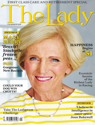 The Lady 1st 13th March 2019