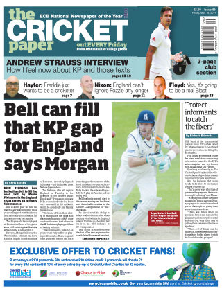 The Cricket Paper 16th May 2014