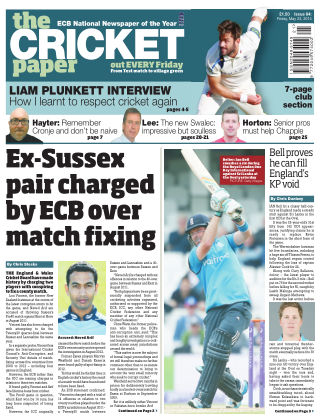 The Cricket Paper 23rd May 2014