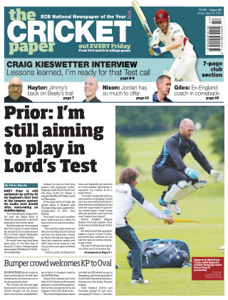 The Cricket Paper 30th May 2014