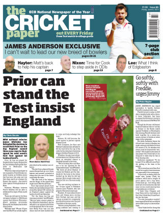 The Cricket Paper 6th June 2014