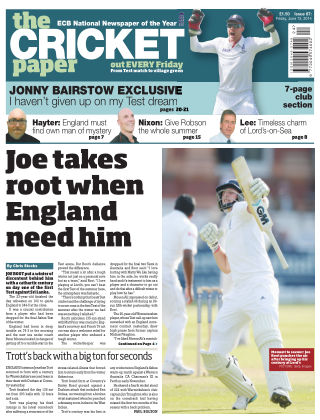 The Cricket Paper June 2014