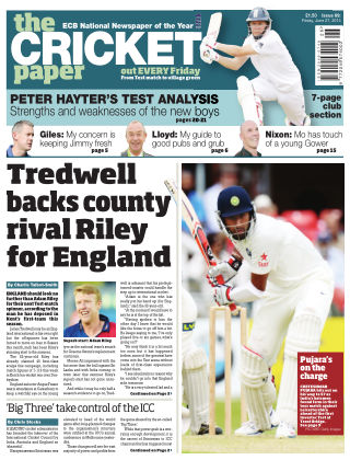 The Cricket Paper 27th June 2014
