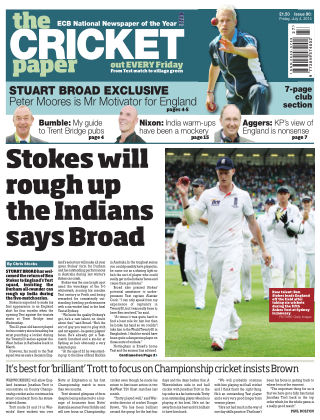 The Cricket Paper 4th July 2014
