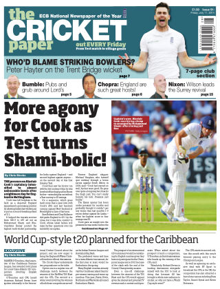 The Cricket Paper 11th July 2014