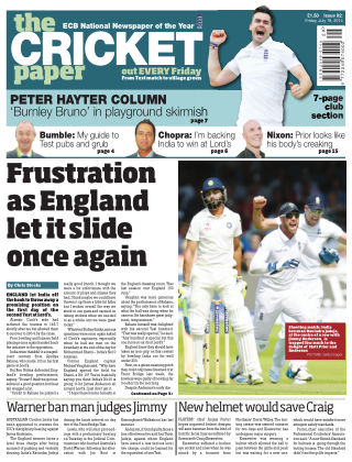 The Cricket Paper 18th July 2014