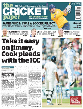 The Cricket Paper 1st August 2014