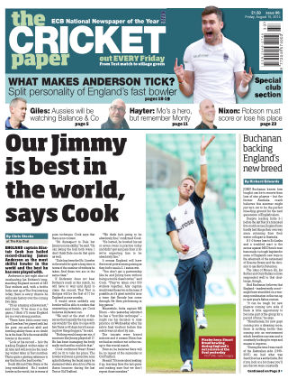 The Cricket Paper 15th August 2014