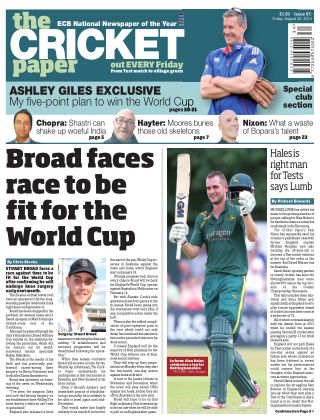 The Cricket Paper 22nd August 2014