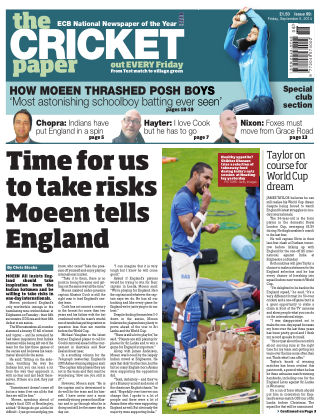 The Cricket Paper 5th September 2014