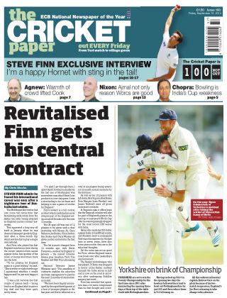 The Cricket Paper 12th September 2014