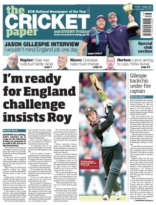 The Cricket Paper 19th September 2014