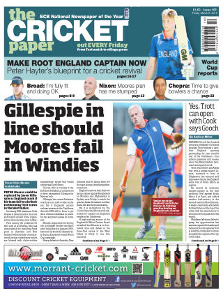 The Cricket Paper 6th March 2015