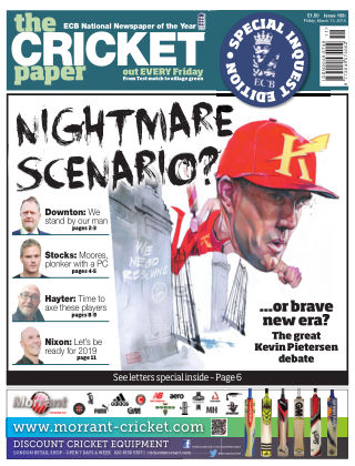 The Cricket Paper 13th March 2015