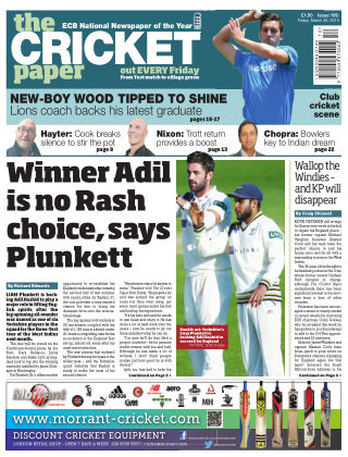The Cricket Paper 20th March 2015
