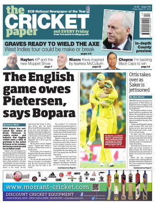 The Cricket Paper 27th March 2014