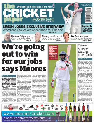 The Cricket Paper 3rd April 2015