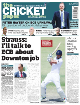 The Cricket Paper 10th April 2015