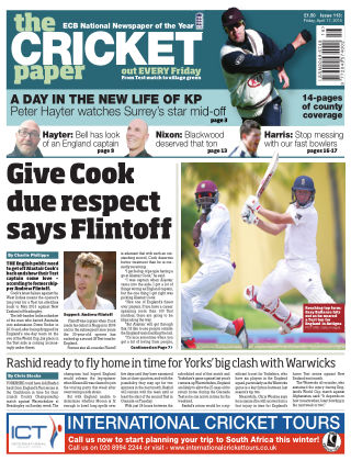The Cricket Paper 17th April 2015
