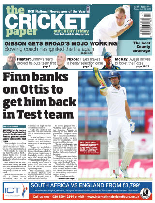 The Cricket Paper 24th April 2015