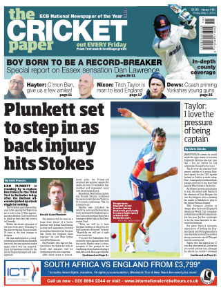 The Cricket Paper 1st May 2015