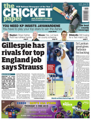 The Cricket Paper 22nd May 2015