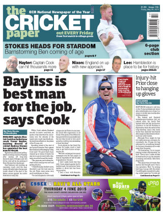The Cricket Paper 29th May 2015