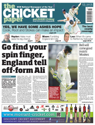 The Cricket Paper 5th June 2015