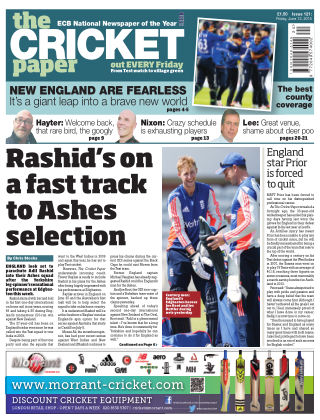 The Cricket Paper 12th June 2015