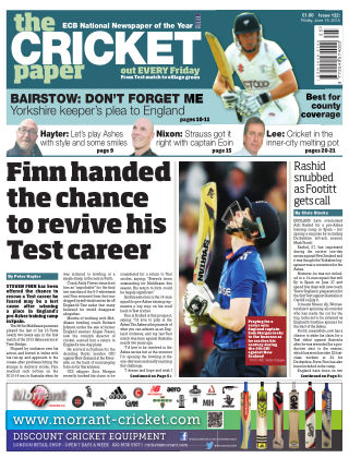 The Cricket Paper 19th June 2015