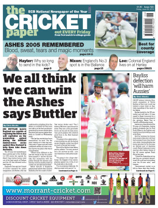 The Cricket Paper 26th June 2015