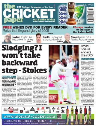 The Cricket Paper 3rd July 2015
