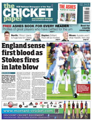The Cricket Paper 10th July 2015