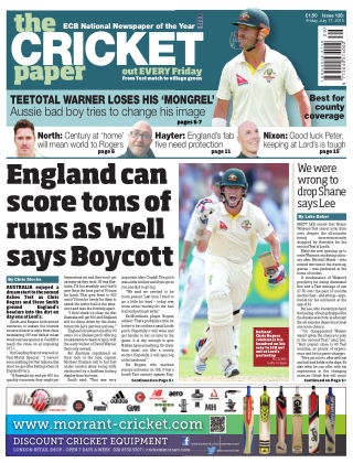The Cricket Paper 17th July 2015