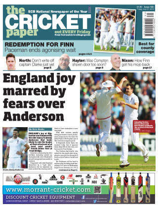 The Cricket Paper 31st July 2015