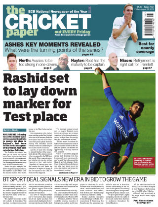 The Cricket Paper 28th August 2015