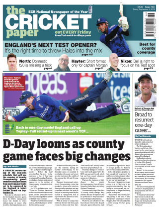 The Cricket Paper 4th September 2015