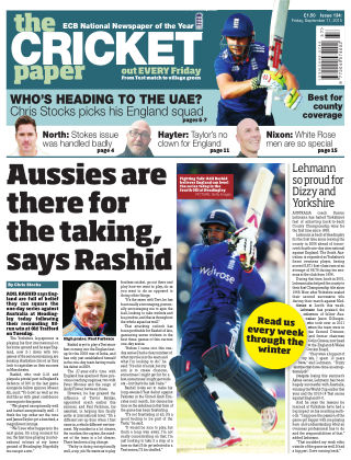 The Cricket Paper 11th September 2015