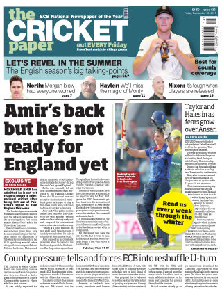The Cricket Paper 18th September 2015