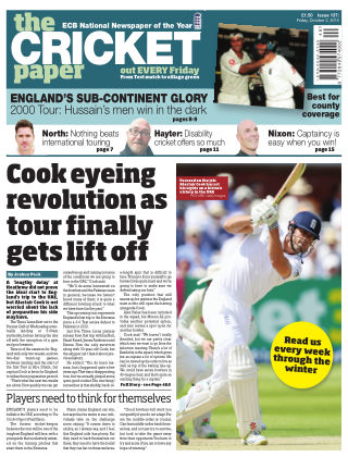 The Cricket Paper 2nd October 2015