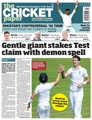The Cricket Paper 9th October 2015