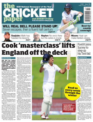 The Cricket Paper 16th October 2015