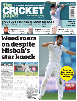 The Cricket Paper 23rd October 2015