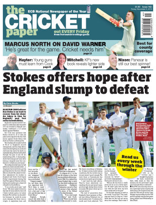 The Cricket Paper 6th November 2015