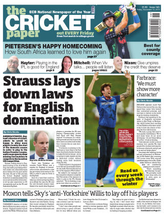 The Cricket Paper 13th November 2015
