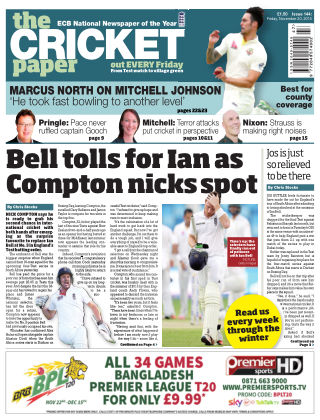 The Cricket Paper 20th November 2015