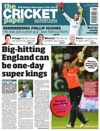 The Cricket Paper 27th November 2015
