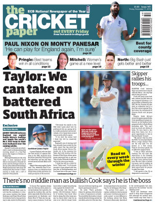The Cricket Paper 11th December 2015